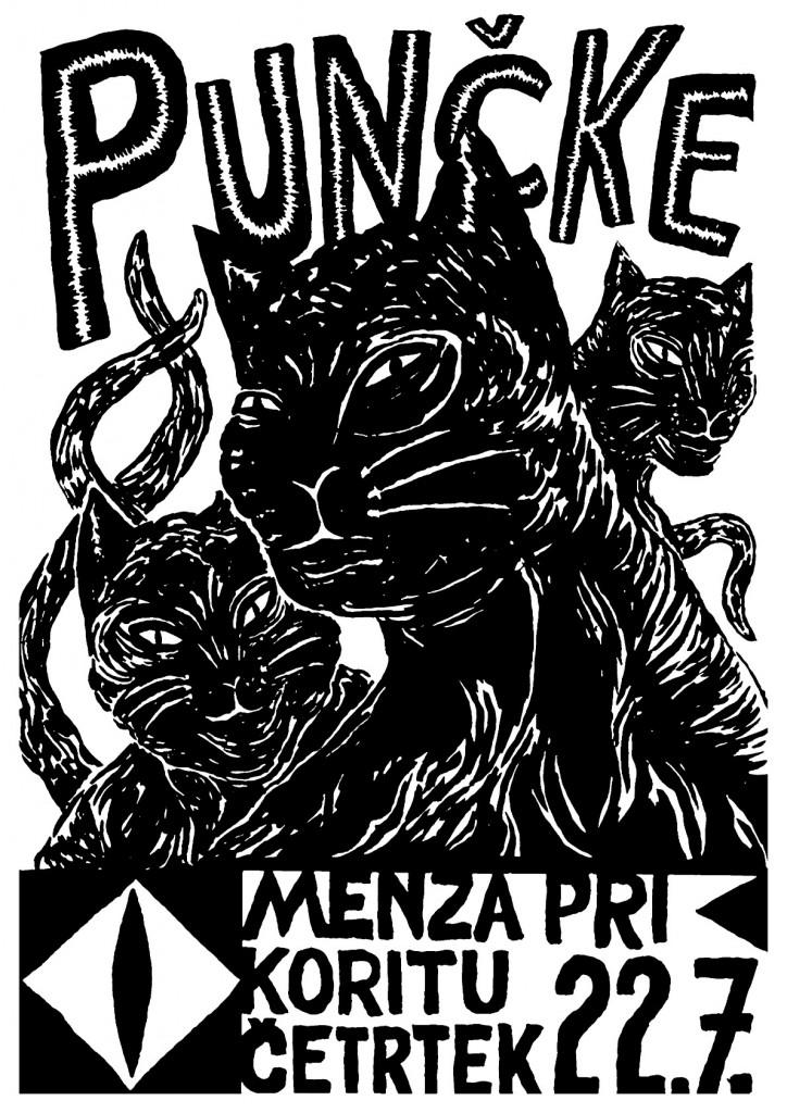 Puncke Menza Poster