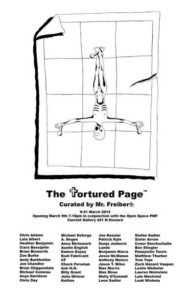 the tortured page